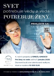 4. ročník súťaže L'ORÉAL-UNESCO Pre ženy vo vede