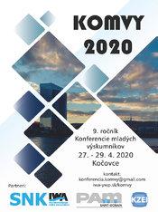 Konferencia mladých výskumníkov KOMVY 2020
