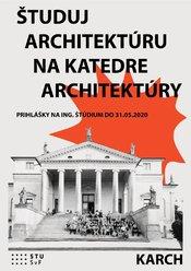 Študuj architektúru na Katedre architektúry!
