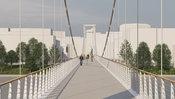 Študenti ukázali, ako môže vyzerať prvý promenádny most v Bratislave