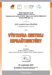 Pozvánka na XXVI. Seminár Ivana Poliačka s medzinárodnou účasťou