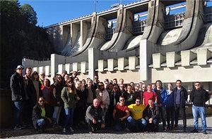 Odborná exkurzia po vodných stavbách v Českej republike