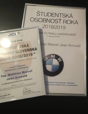 Študentská osobnosť Slovenska 2018/19
