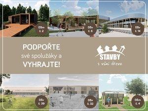 Hlasujte za najlepšie študentské návrhy drevených stavieb