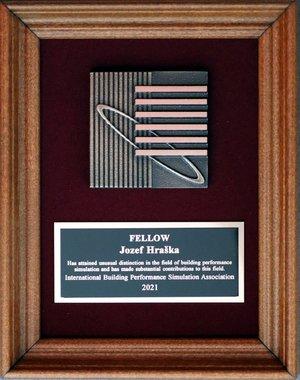 Distinguished Award for Professor Ing. Jozef Hraška, PhD.